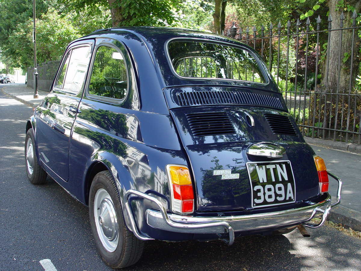 1963 LHD 1971 Fiat 500L SOLD (picture 4 of 6)