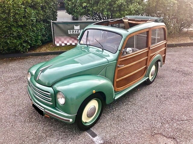 1950 Fiat - 500 C Giardiniera legno SOLD (picture 1 of 6)