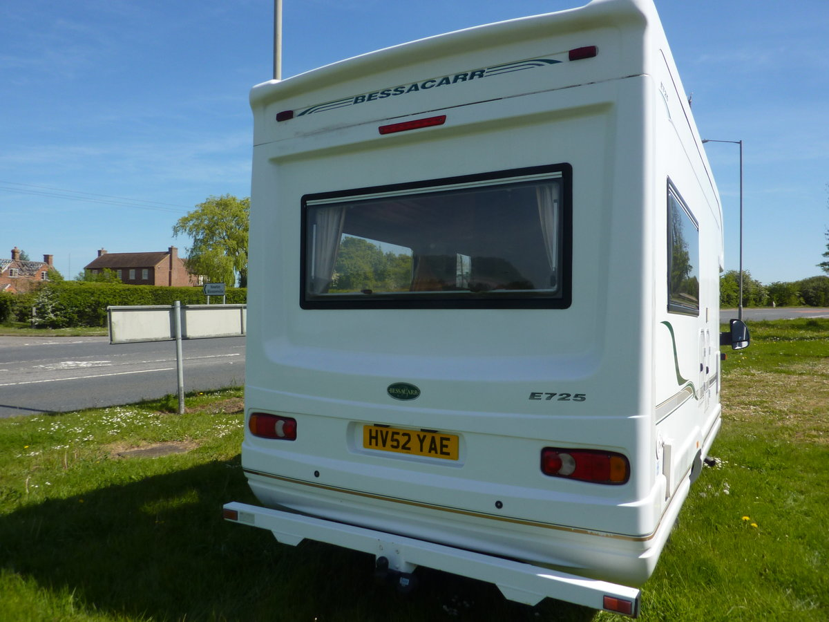 2002 Bessacarr E725 Motorhome SOLD (picture 2 of 6)