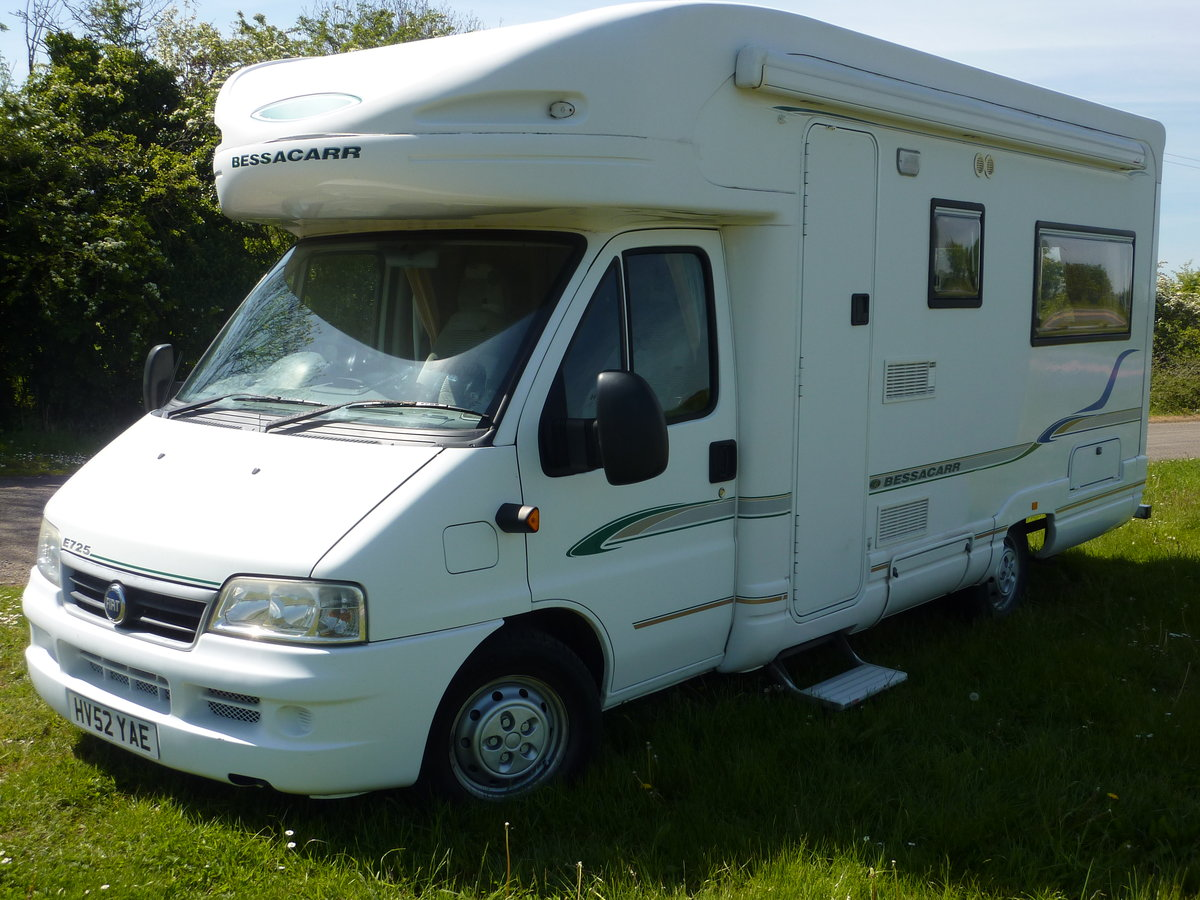 2002 Bessacarr E725 Motorhome SOLD (picture 3 of 6)