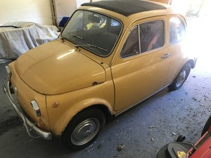 1971 RHD UK FIAT 500 FOR RESTORATION