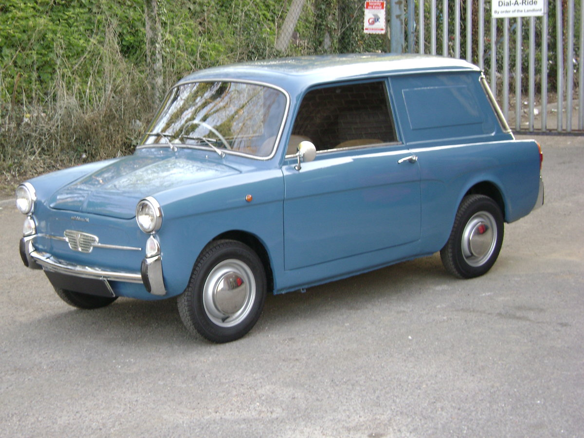 1970 Fiat 500 Autobianchi Bianchina Furgoncino Rare RHD For Sale (picture 1 of 6)