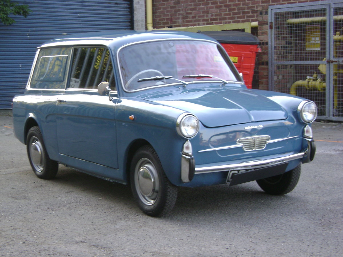 1970  Autobianchi Bianchina Furgoncino Rare UK RHD For Sale (picture 2 of 6)