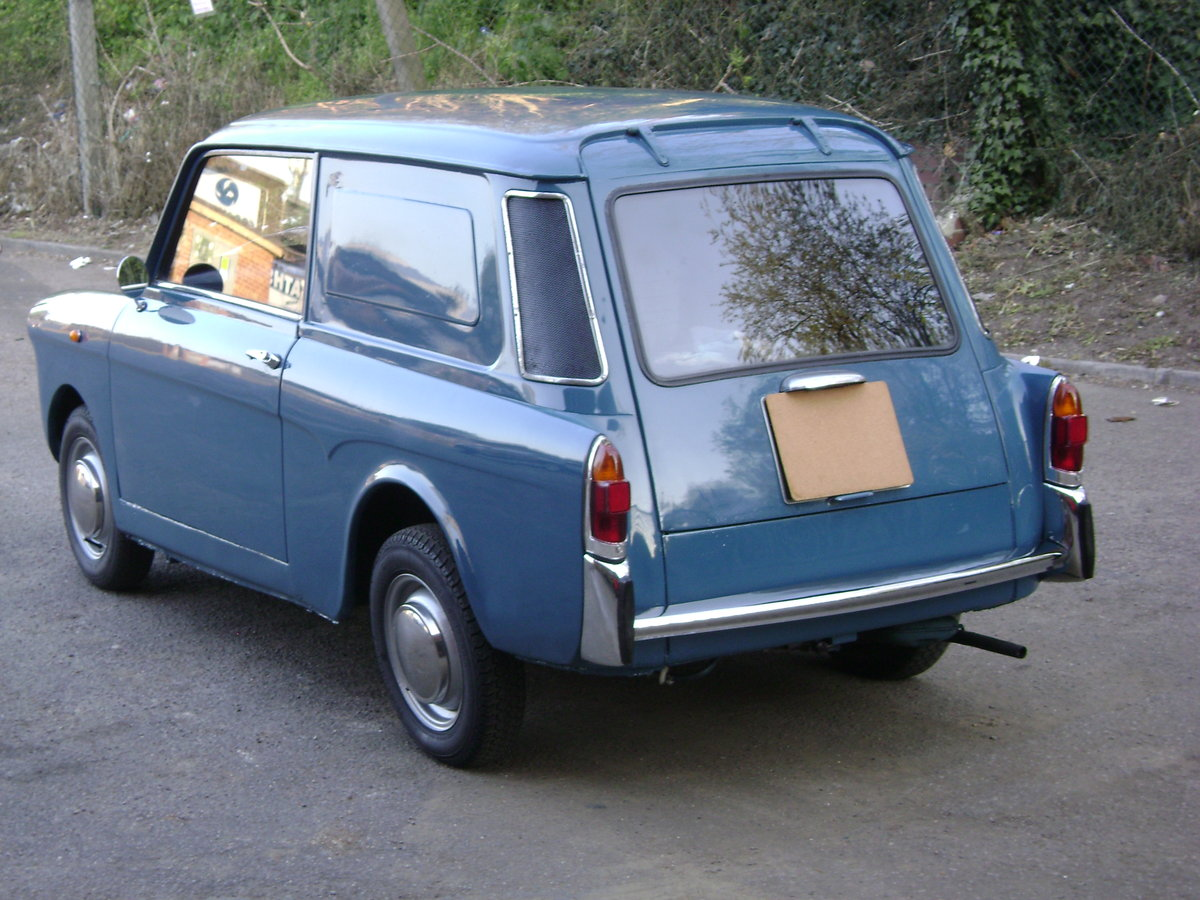 1970  Autobianchi Bianchina Furgoncino Rare UK RHD For Sale (picture 3 of 6)