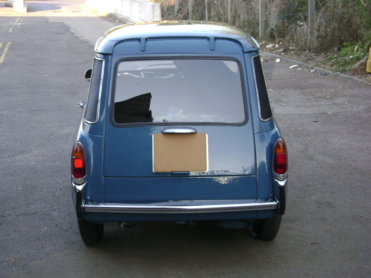 1970  Autobianchi Bianchina Furgoncino Rare UK RHD For Sale (picture 6 of 6)