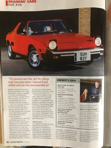 1983 Fiat X19 in great condition ready to enjoy