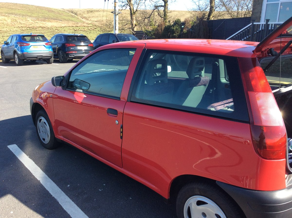 1994 Time warp Fiat punto  as new For Sale (picture 2 of 6)