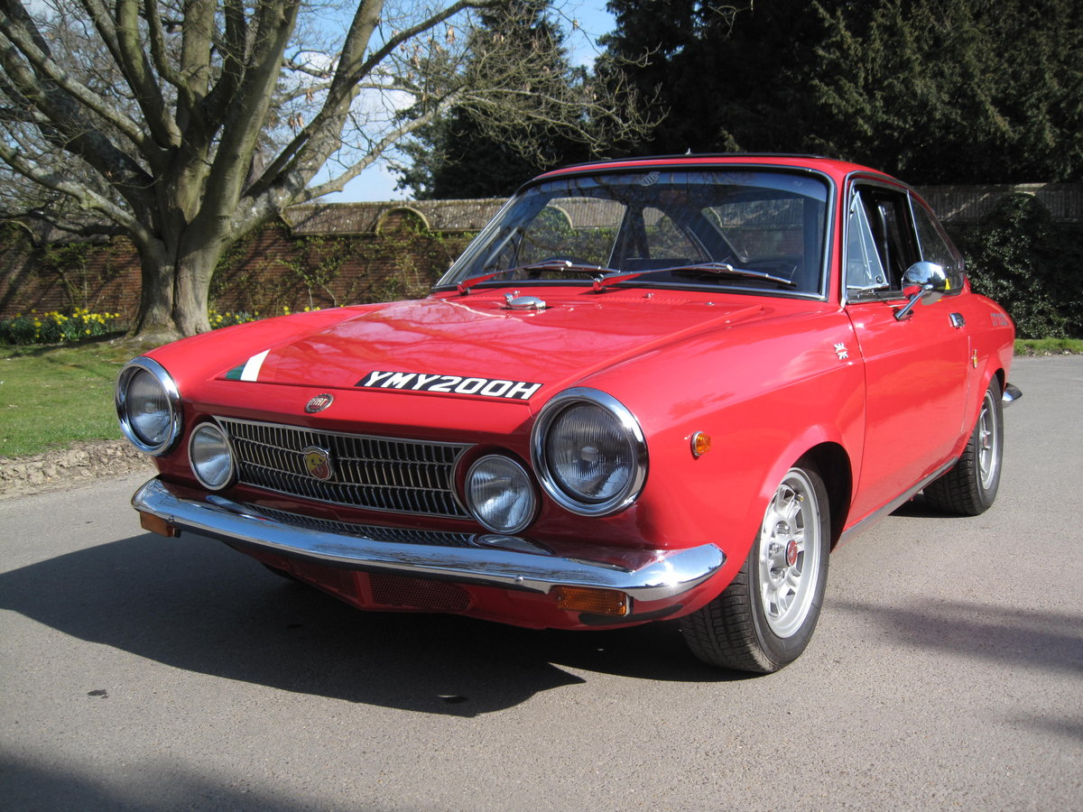 Fiat 850 / Abarth OTS1000 recreation . For Sale (picture 1 of 6)