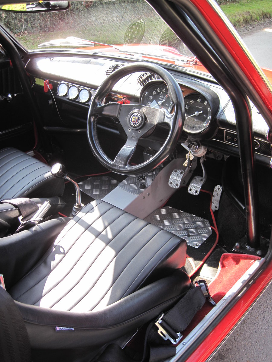 Fiat 850 / Abarth OTS1000 recreation . For Sale (picture 3 of 6)