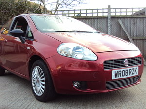 2008 Fiat Punto Active – 1242cc Petrol – With MOT – Low Road Tax  For Sale