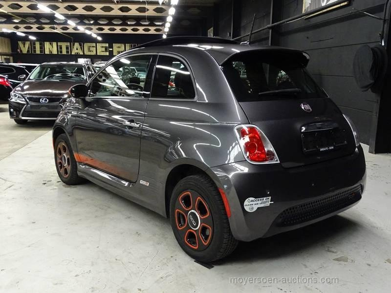 2015 FIAT 500E For Sale by Auction (picture 3 of 6)