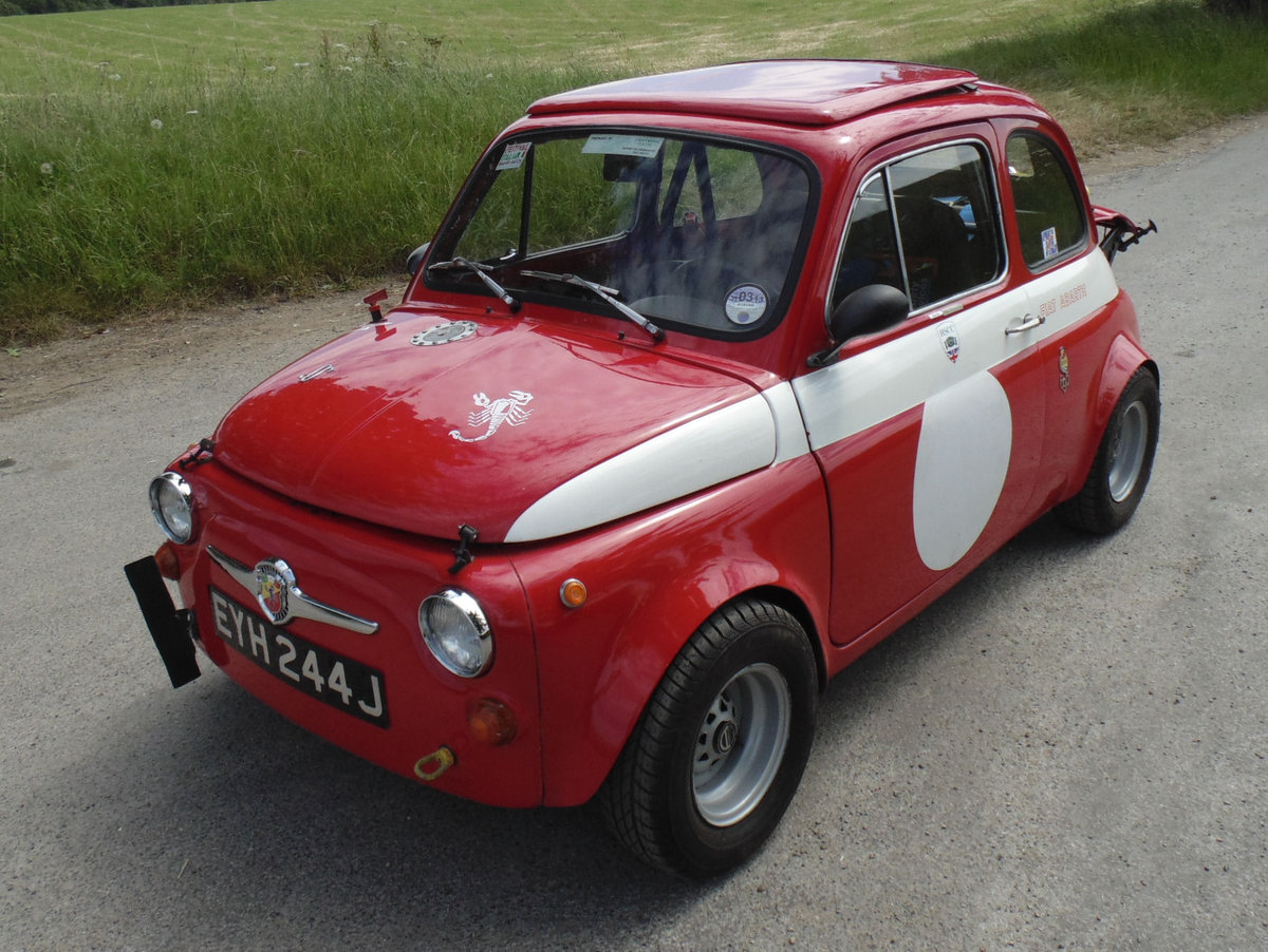 1967 Fiat 500 Radbourne Racing Abarth For Sale (picture 1 of 6)