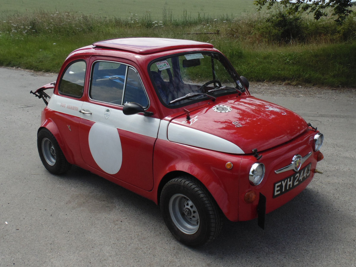 1967 Fiat 500 Radbourne Racing Abarth For Sale (picture 2 of 6)