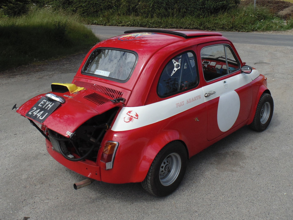 1967 Fiat 500 Radbourne Racing Abarth For Sale (picture 3 of 6)