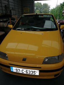 1997 Bertone Fiat Punto Convertible elx 1600cc