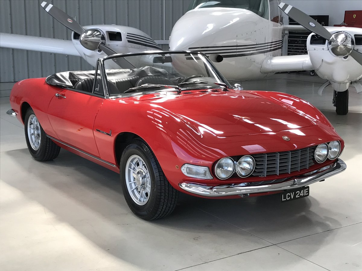 1967 Fiat Dino 2.0 Spider For Sale (picture 1 of 6)