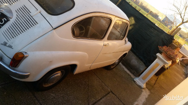 1965 Fiat 600d For Sale (picture 3 of 5)