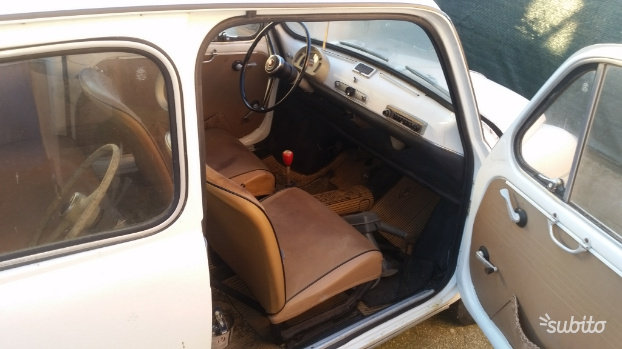 1965 Fiat 600d For Sale (picture 5 of 5)