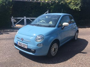 2012 Ffiat 500 1.2 62colour therapy one owner from new