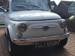 1970 Fiat 500 L - High Spec Restore - Just Completed For Sale