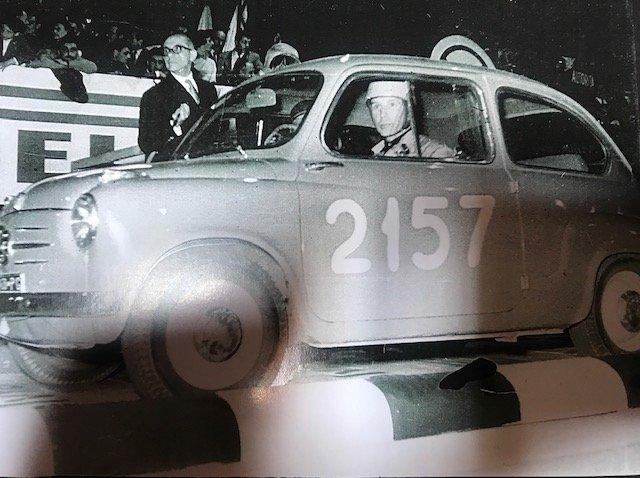 Original Ex 1955 Fiat 600 Mille Miglia Brandi-Forini 1955 For Sale (picture 2 of 6)
