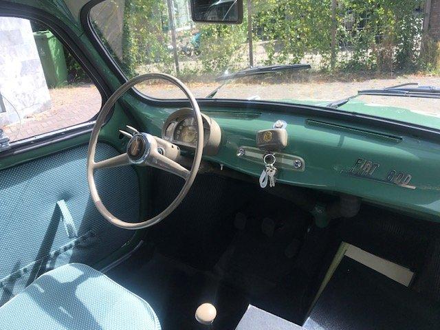 Original Ex 1955 Fiat 600 Mille Miglia Brandi-Forini 1955 For Sale (picture 4 of 6)