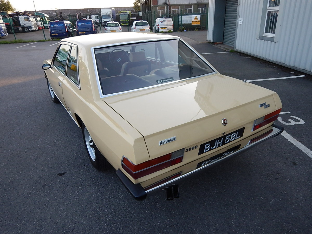 1973 FIAT 130 Coupe ~ RHD ~ Automatic SOLD (picture 4 of 6)