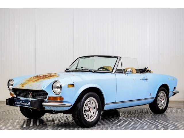 1974 Fiat 124 Spider 1600 For Sale (picture 1 of 6)