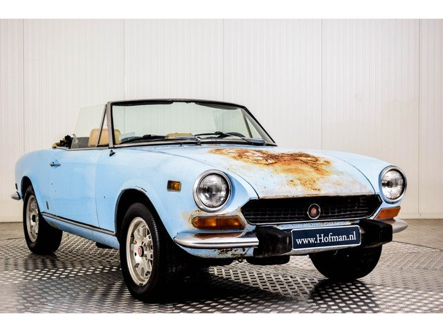 1974 Fiat 124 Spider 1600 For Sale (picture 3 of 6)
