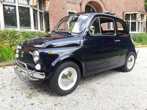 Fiat 500 luxe dark blue 1971 beautifull condition  8700 euro SOLD