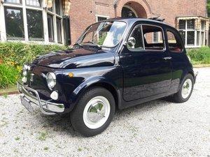 Fiat 500 luxe dark blue 1971 beautifull condition  8700 euro For Sale