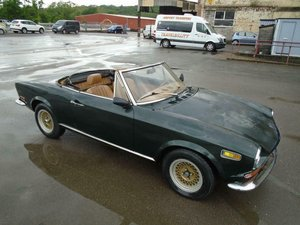 FIAT 124 1.4 BS SPORT SPIDER CONVERTIBLE(1970)98% RUSTFREE  SOLD