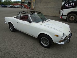 FIAT 124 1.6 CS SPORT SPIDER CONVERTIBLE (1973) 98% RUSTFREE For Sale