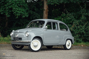 1956 FIAT 600, Mille Miglia Eligible, 3000Kms since new For Sale