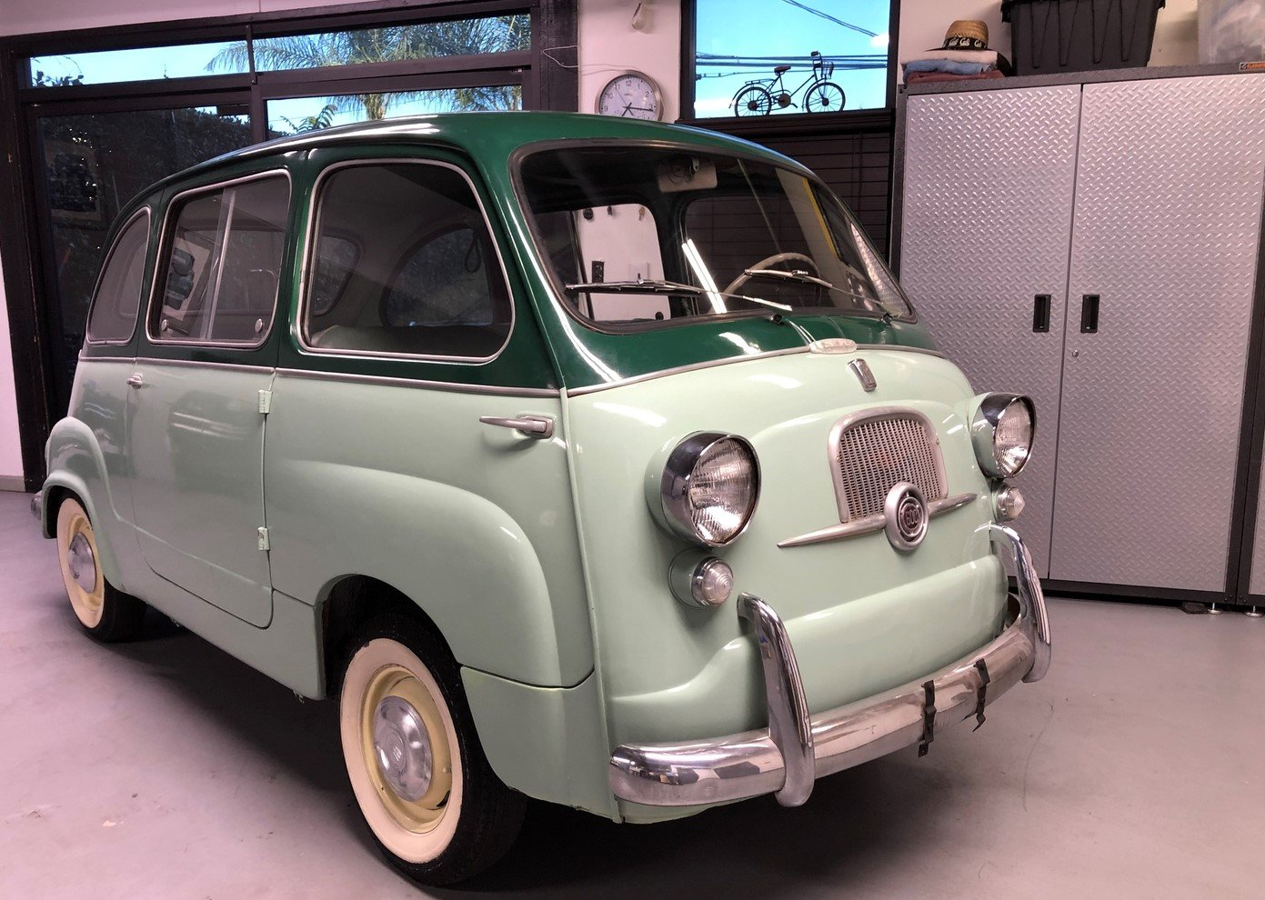 1957 FIAT 600 SOLD (picture 1 of 6)