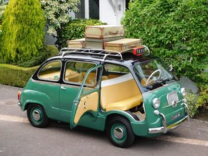 Fiat 600D Multipla Taxi / LHD / 1965 / Restored & Mint! For Sale