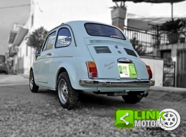 Fiat 500 GIANNINI TV DEL 1968 COMPLETAMENTE RESTAURATA DOC  For Sale (picture 4 of 6)
