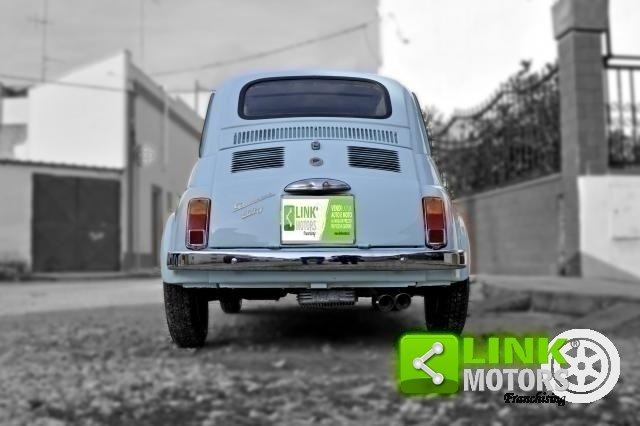 Fiat 500 GIANNINI TV DEL 1968 COMPLETAMENTE RESTAURATA DOC  For Sale (picture 5 of 6)