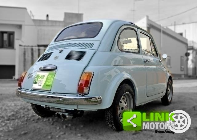 Fiat 500 GIANNINI TV DEL 1968 COMPLETAMENTE RESTAURATA DOC  For Sale (picture 6 of 6)