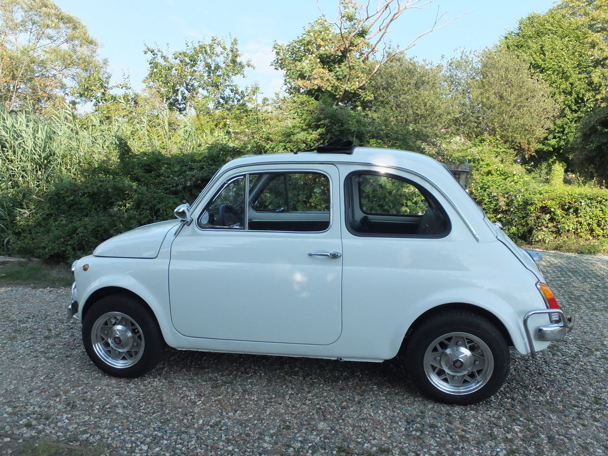 1973 Classic Fiat 500 Lusso For Sale (picture 1 of 6)