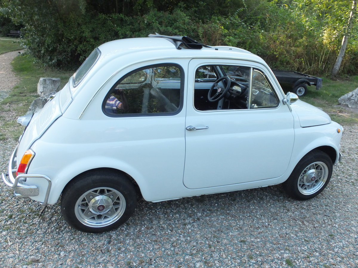 1973 Classic Fiat 500 Lusso For Sale (picture 2 of 6)