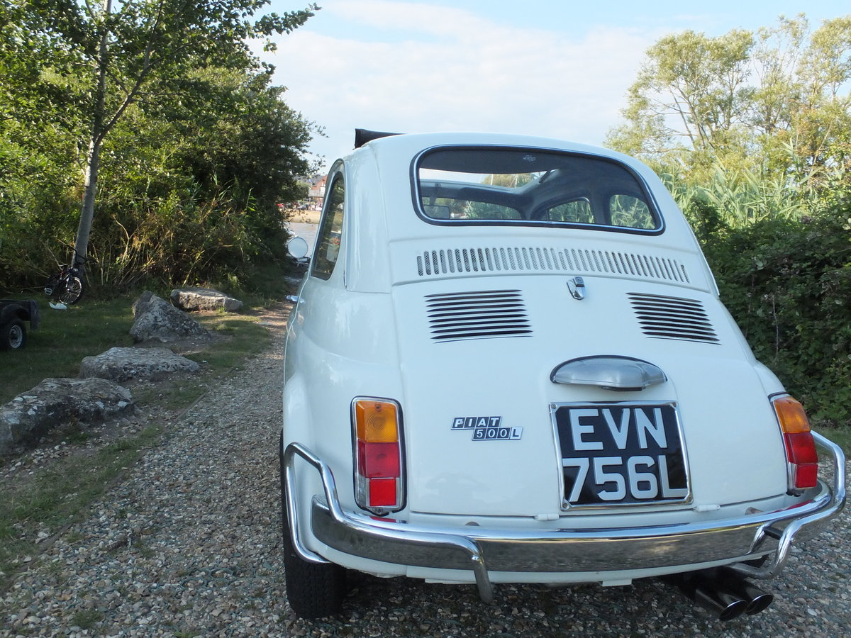1973 Classic Fiat 500 Lusso For Sale (picture 3 of 6)