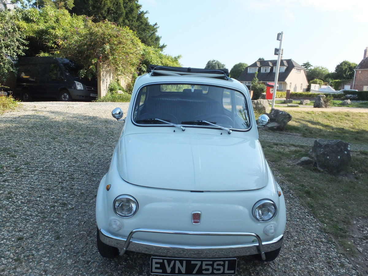 1973 Classic Fiat 500 Lusso For Sale (picture 6 of 6)