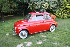 Classic Fiat 500 fully restored - Totally personalized  For Sale