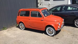 1976 Fiat 500 Giardiniera UK Registered For Sale
