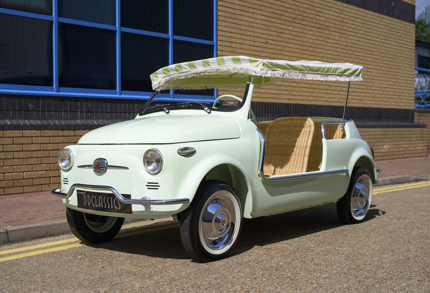 1963 Fiat 500 Jolly For Sale In London (LHD) For Sale (picture 1 of 24)