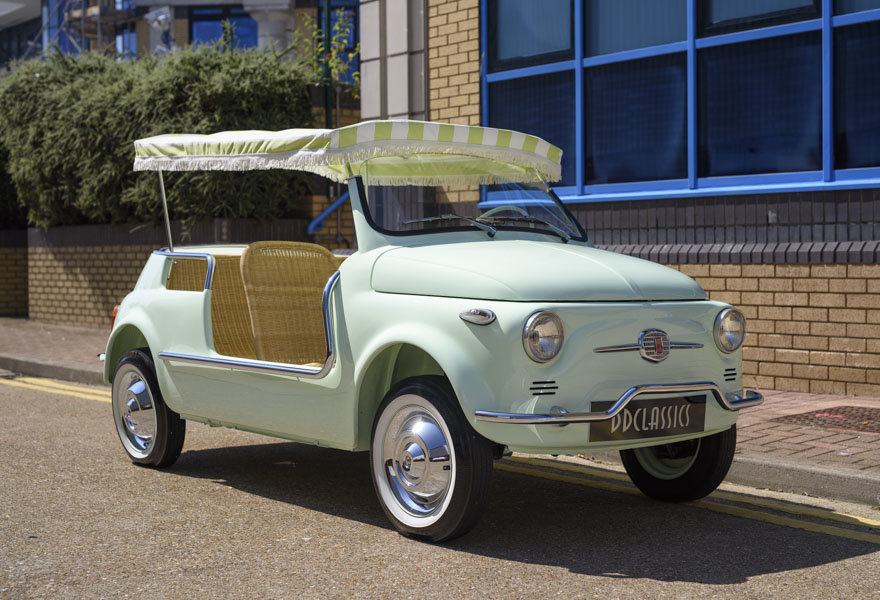 1963 Fiat 500 Jolly For Sale In London (LHD) For Sale (picture 2 of 24)