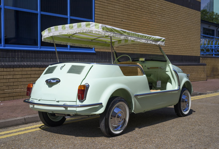 1963 Fiat 500 Jolly For Sale In London (LHD) For Sale (picture 3 of 24)