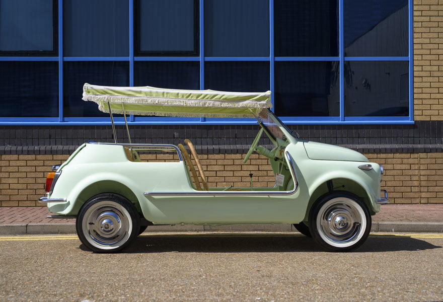 1963 Fiat 500 Jolly For Sale In London (LHD) For Sale (picture 4 of 24)