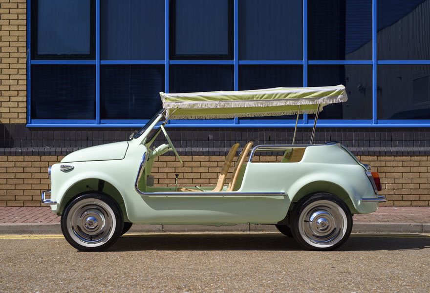1963 Fiat 500 Jolly For Sale In London (LHD) For Sale (picture 5 of 24)